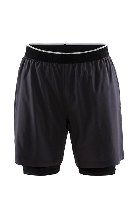 Craft Pánské šortky CRAFT Charge 2 v 1 tmavěšedá XL