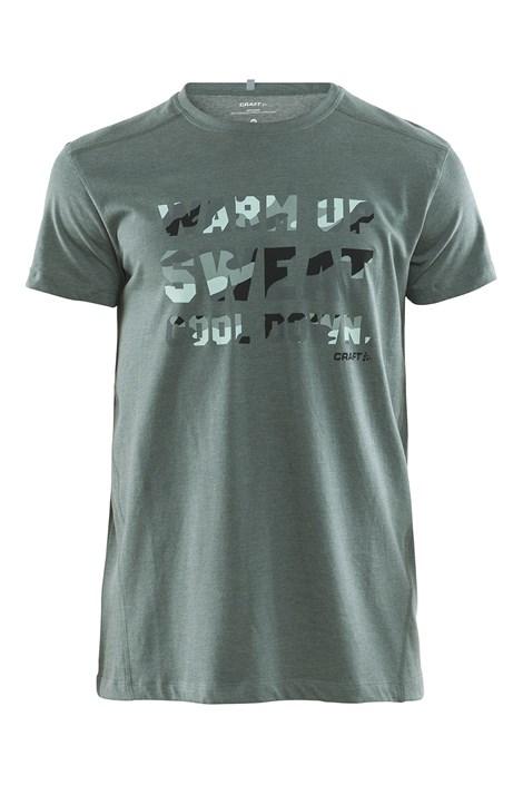 Craft Pánské triko CRAFT Graphic zelená S