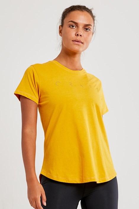 CRAFT Dámské tričko CRAFT Deft žluté žlutá S