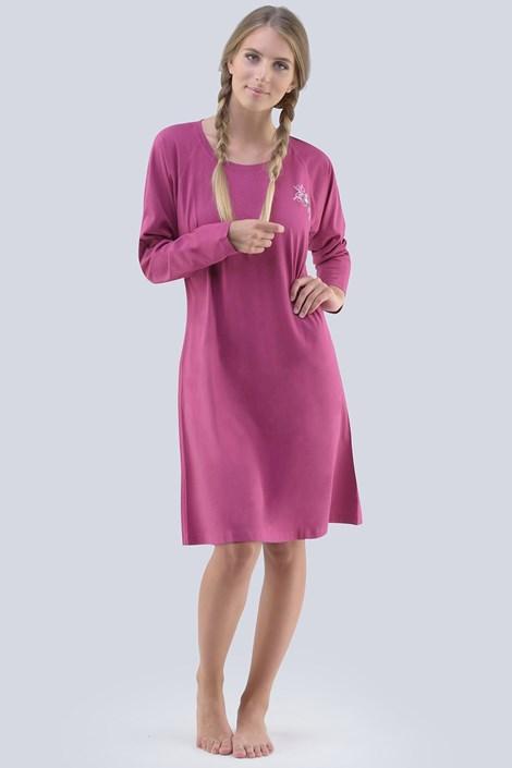 Gina Dámská noční košile Theresa vínová XL