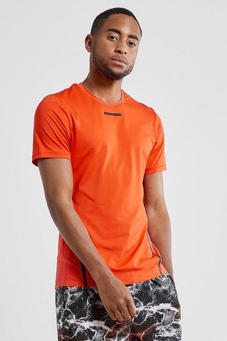 CRAFT Pánské tričko CRAFT Vent Mesh oranžová XL
