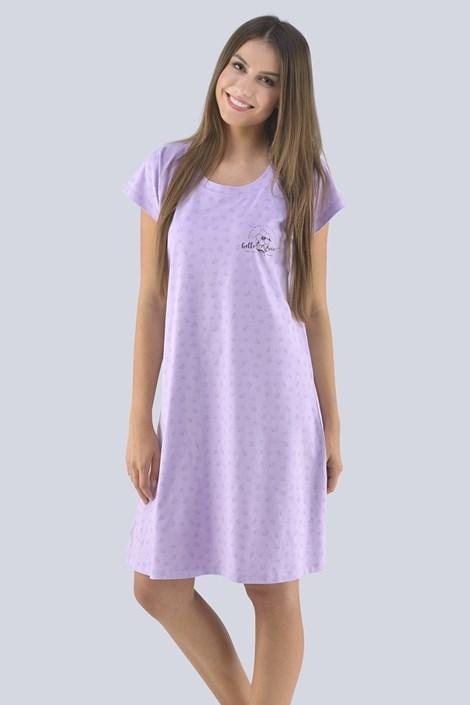 Gina Dámská noční košilka Lenka fialová XXL