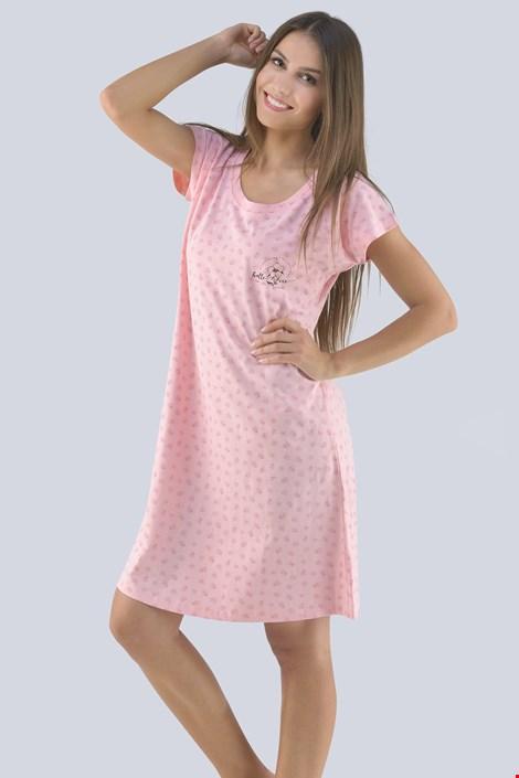Gina Dámská noční košilka Ilona růžová XL