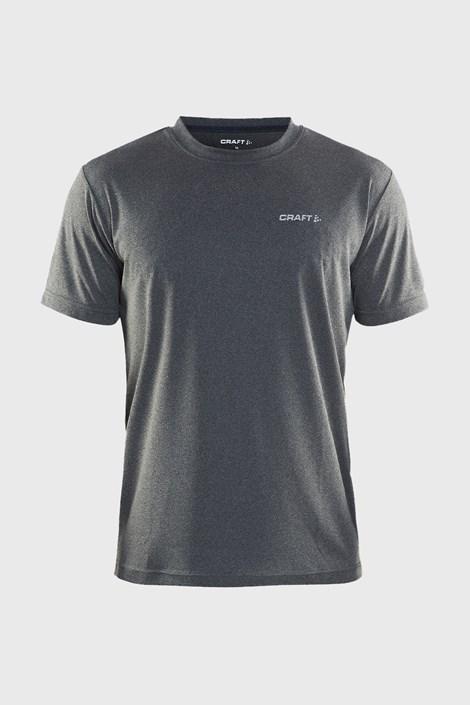 CRAFT Pánské tričko CRAFT Prime tmavě šedé tmavěšedá S