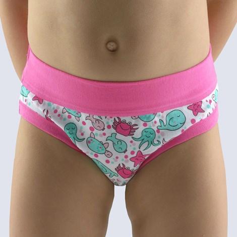 Gina Dívčí kalhotky Disco růžová růžová 152/158