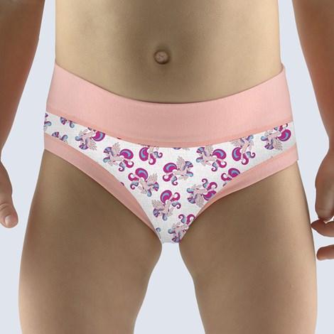 Gina Dívčí kalhotky Ponny jogurtová bílá 152/158