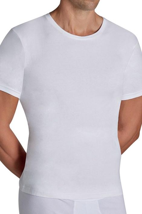 Ysabel Mora Pánské tričko YSABEL MORA Cotton Nature bílá M
