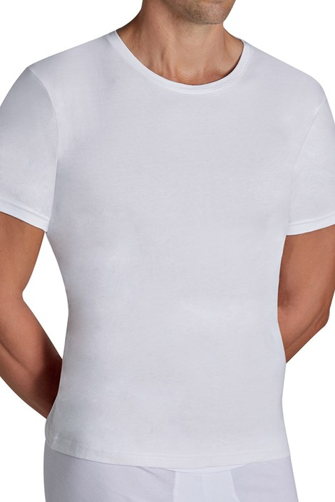 Ysabel Mora Pánské tričko YSABEL MORA Cotton Nature bílá XL