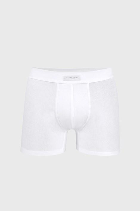 Bílé boxerky Cotton Nature