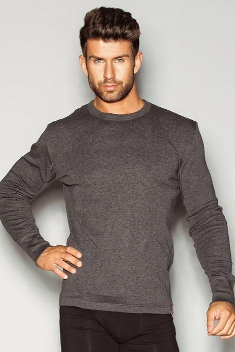 Henderson Pánské triko HENDERSON Basic šedá L