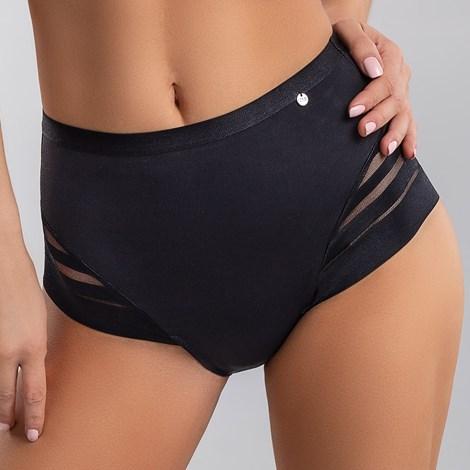 LISCA Kalhotky Alegra vyšší černá_02 50