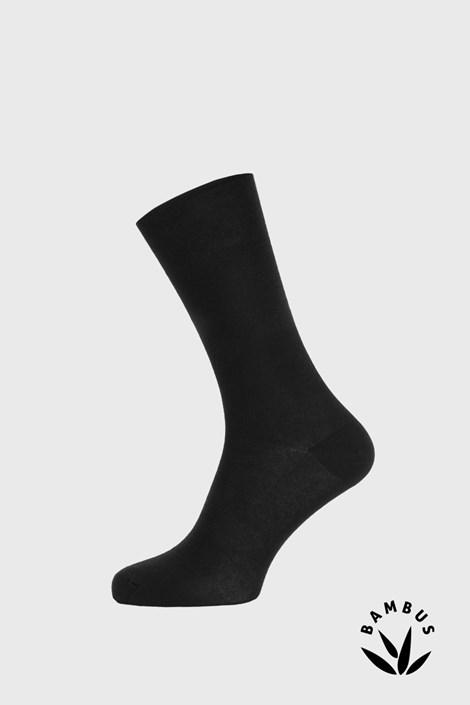 Čierne bambusové ponožky Roger