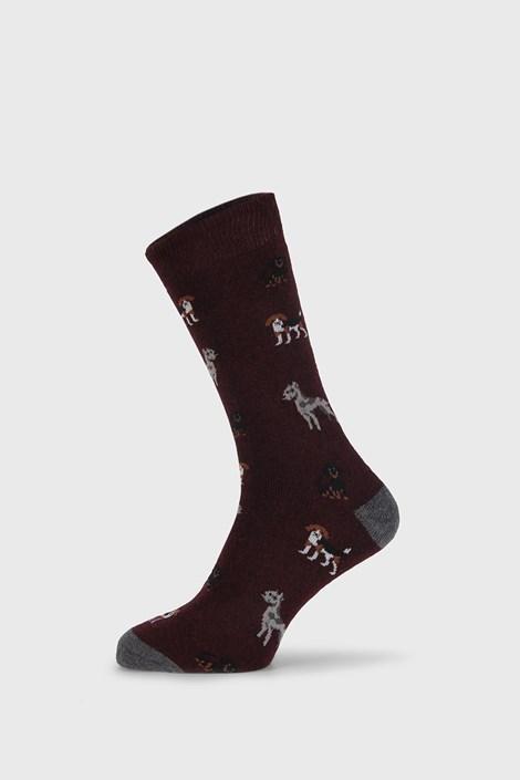 Vínové ponožky Fantasy