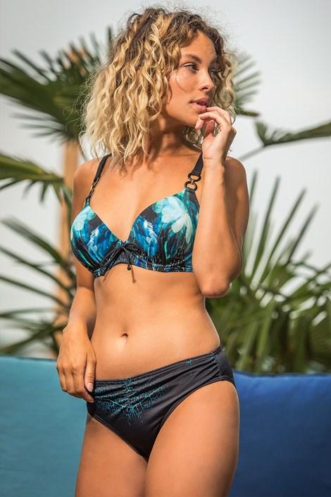 Mila Dámské dvoudílné plavky Camilla černomodrá 40-D