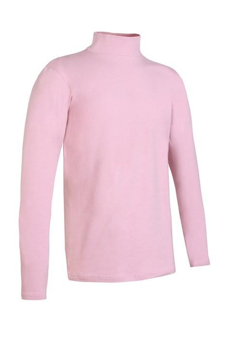 Jadea Dětské bavlněné triko se stojáčkem Jadea růžová ... 6de87ff165
