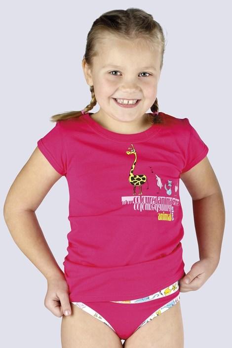 Gina Dívčí tričko Amazing růžové růžová 146/152