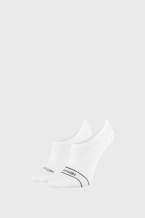 2 PACK bílých dámských ponožek Calvin Klein Alice