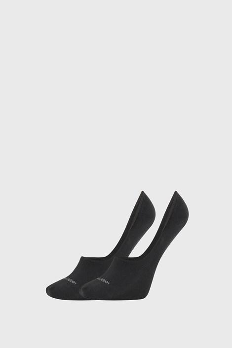 2 PACK dámských ponožek Calvin Klein Jessica černé