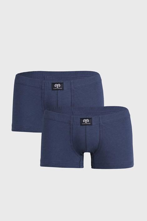 2 PACK modrých boxerek Manny