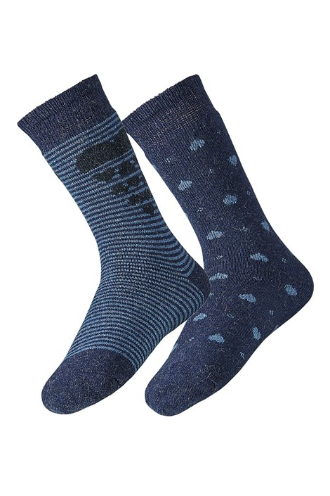 2 PACK dámských ponožek Angora
