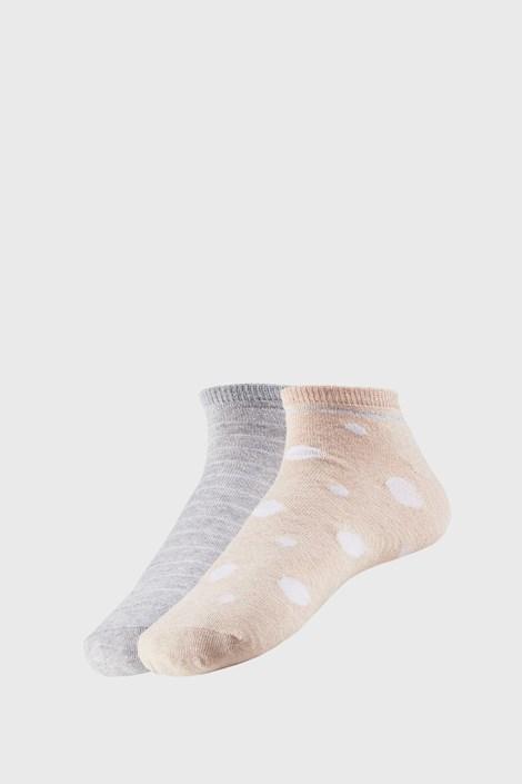2 PACK dámských kotníkových ponožek Adreana