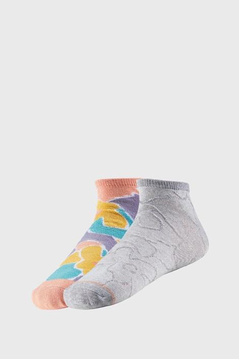 2 PACK dámských kotníkových ponožek Claretta