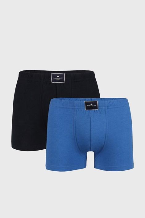 2 PACK modrých boxerek Tom Tailor Palm