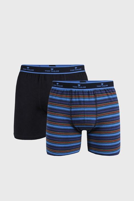 2 PACK modrých boxerek Tom Tailor Leighton