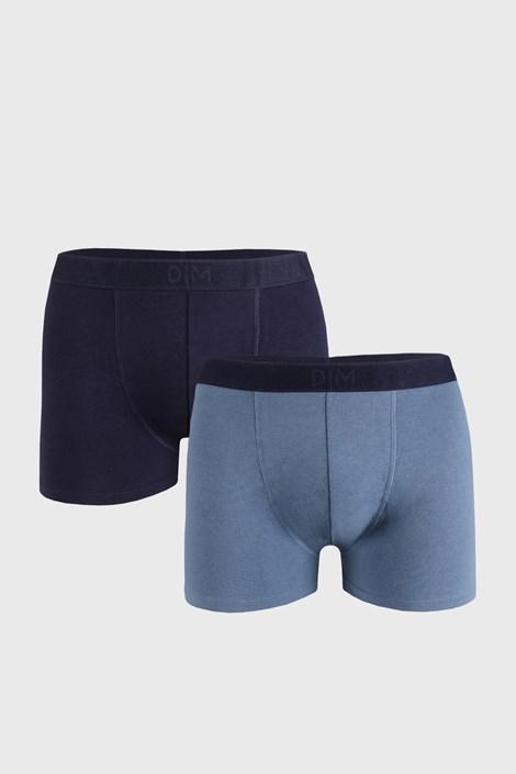 2 PACK modrých boxerek DIM Soft
