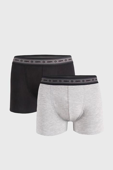 2 PACK šedočerných boxerek DIM Ecosmart