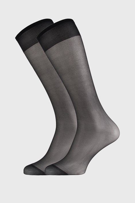 2 PACK γυναικείες νάιλον κάλτσες μέχρι το γόνατο 17 DEN