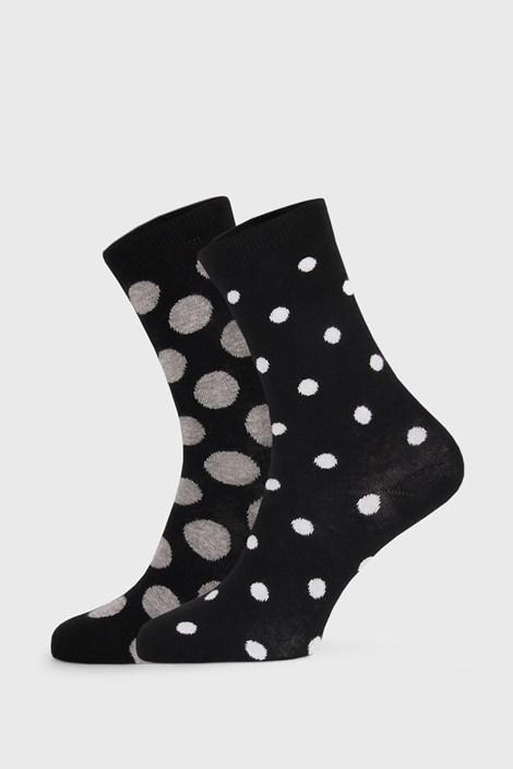 2 PACK čiernych dámskych ponožiek Long