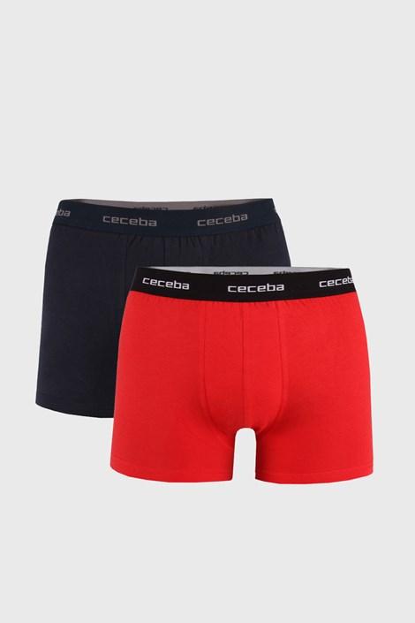 2 PACK červenočerných boxerek X-lastic