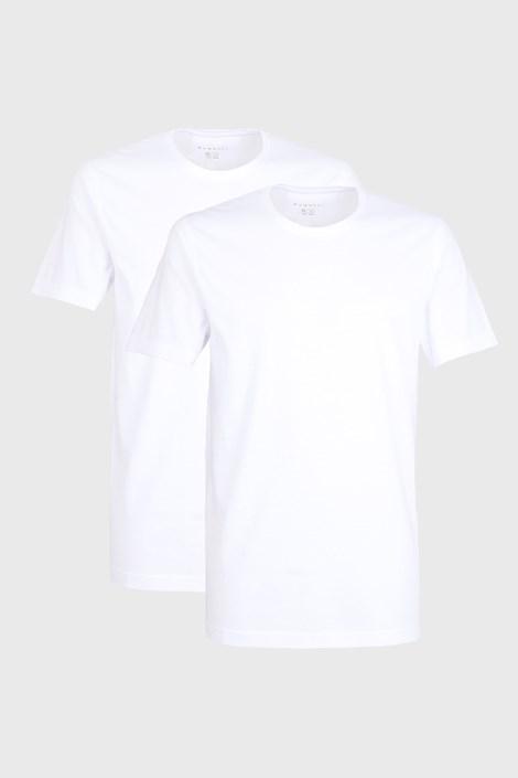 2 PACK bílých triček bugatti O-neck