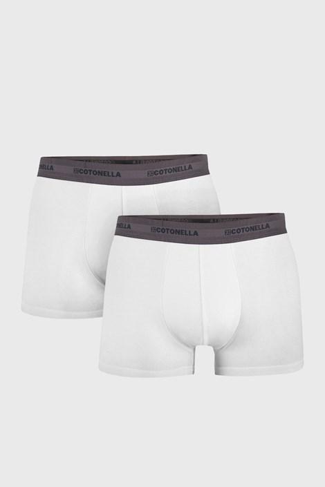 2 PACK muških bokserica Uomo Comfort bijele