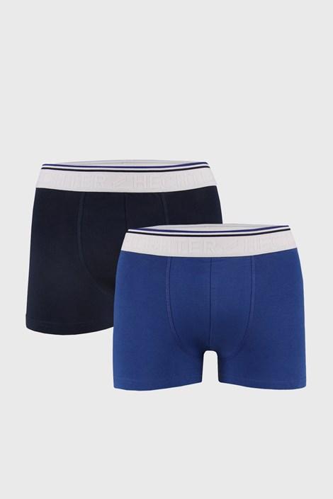 2 PACK modrých boxerek Indi