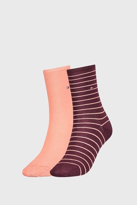 2 PACK dámských ponožek Tommy Hilfiger Stripes