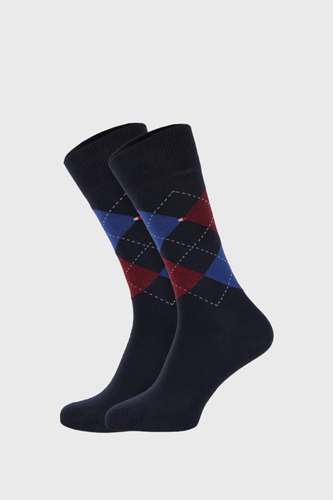2 PACK ponožek Tommy Hilfiger Check Original
