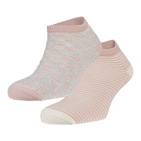 Ysabel Mora 2 pack ponožek Ibby růžová uni