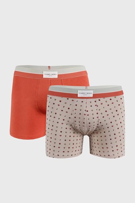 2 PACK oranžovobéžových boxerek Marks