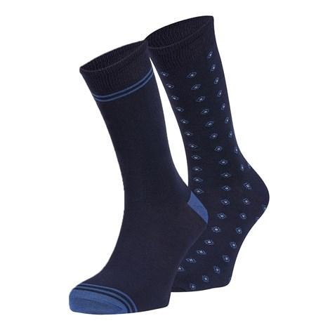 Ysabel Mora 2 pack ponožek Raul modrá uni