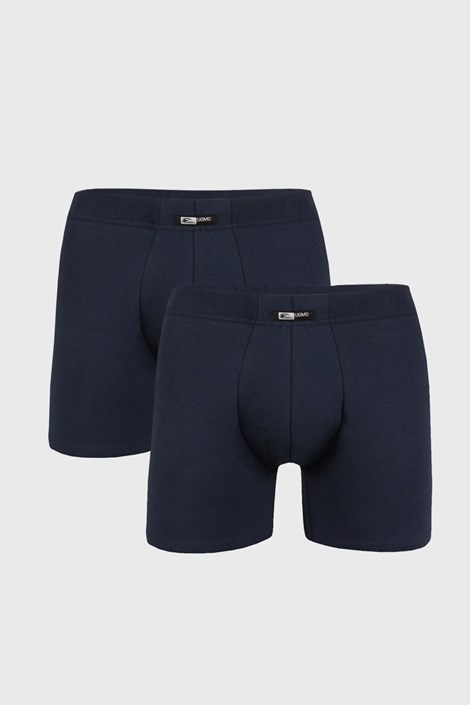 2 PACK modrých boxerek Uomo Home