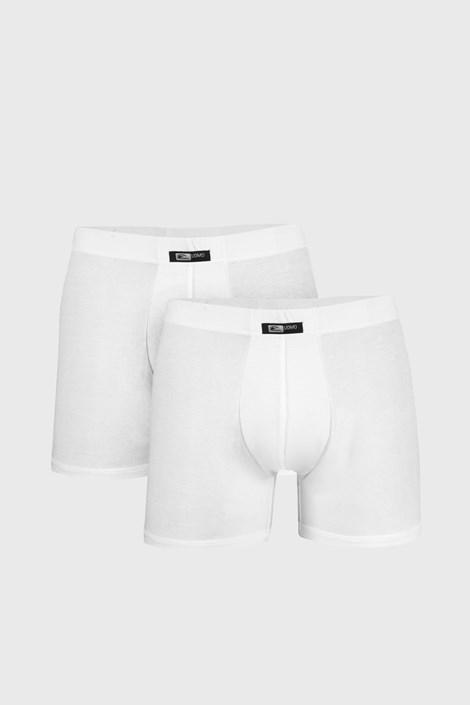 Cotonella 2 PACK bílých boxerek Uomo Home bílá XXXL
