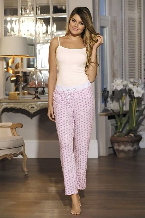 Dámské pyžamové kalhoty Hearts