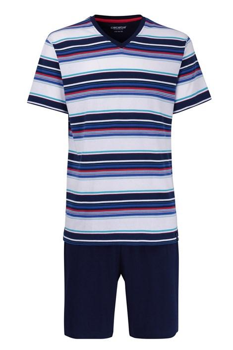 CECEBA Pánské pyžamo CECEBA Red XL plus nežehlivé vícebarevná 9XL