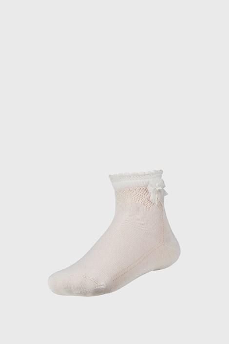 Ysabel Mora Dívčí letní ponožky Simple krémová 35-37
