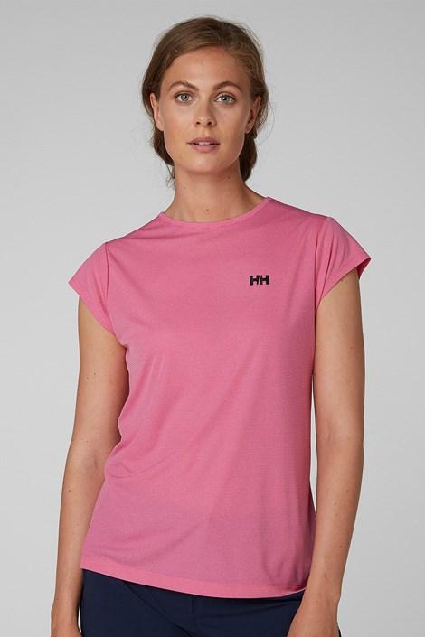 Dámské růžové sportovní triko Helly Hansen