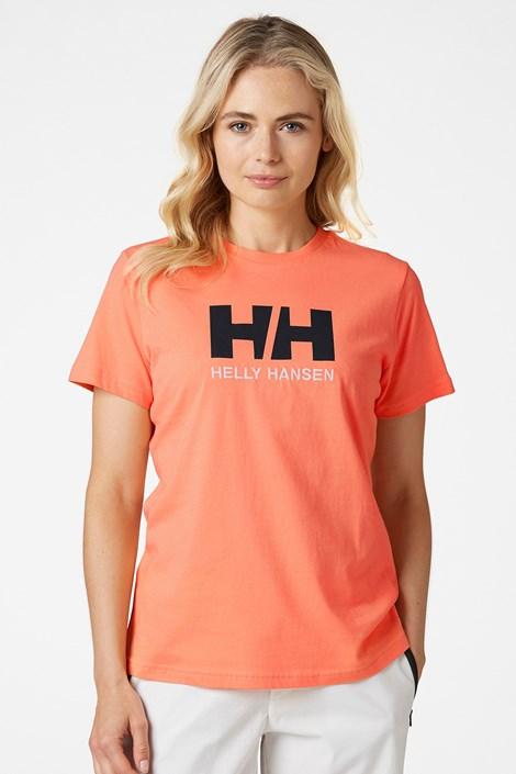 Helly Hansen Dámské oranžové triko Helly Hansen oranžová M