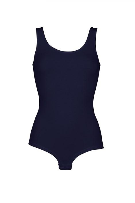 COTONELLA Dámské bavlněné body Denise modrá XL
