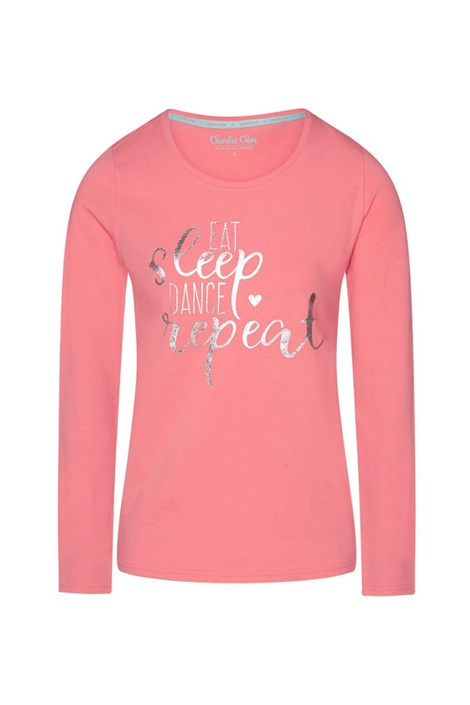 Charlie Choe Dámské tričko na spaní Sweet life růžová XXL